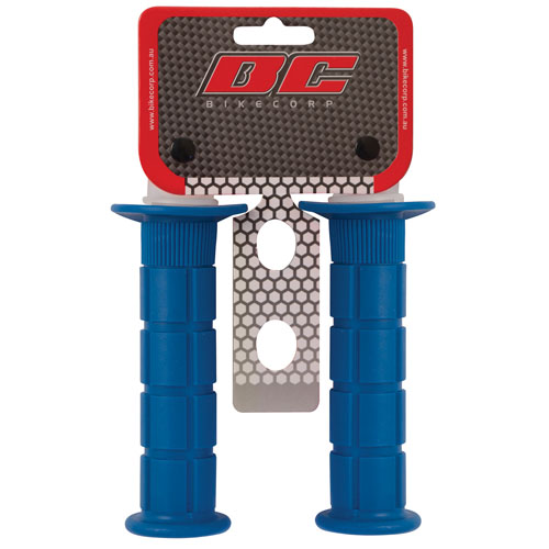 HANDLEBAR GRIP MX BLUE