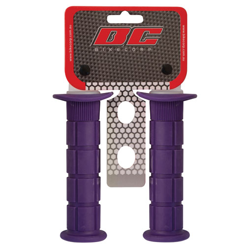 HANDLEBAR GRIP MX PURPLE