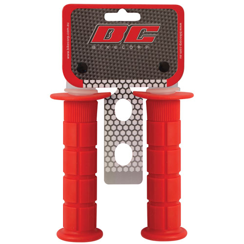 HANDLEBAR GRIP MX RED