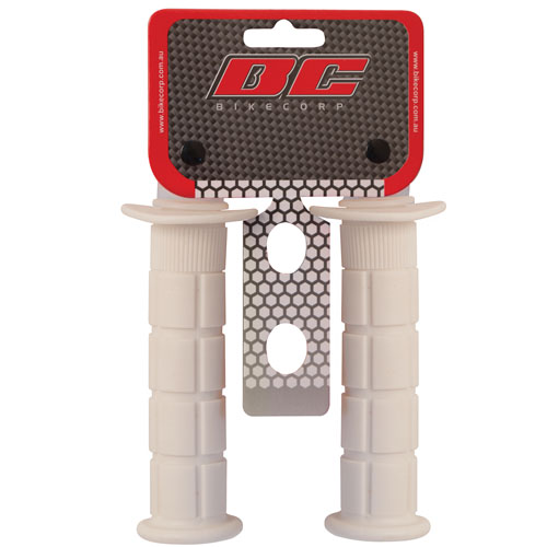 HANDLEBAR GRIP MX WHITE