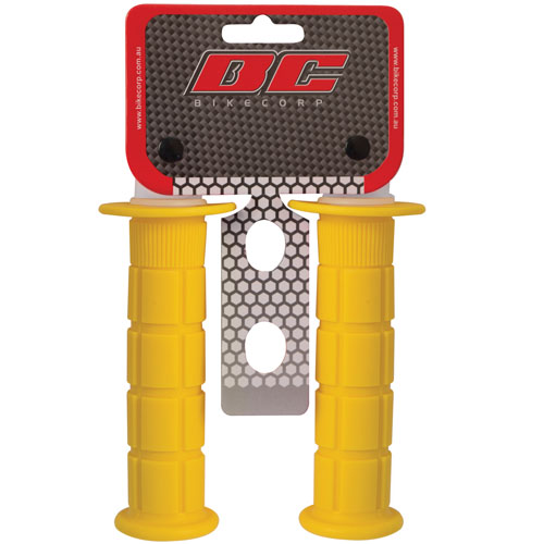 HANDLEBAR GRIP MX YELLOW