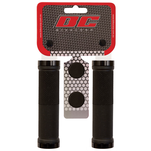 H/BAR GRIP LOCK-ON BLACK