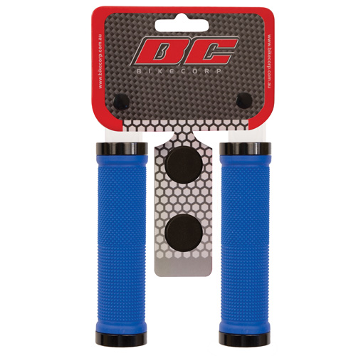 H/BAR GRIP LOCK-ON BLUE
