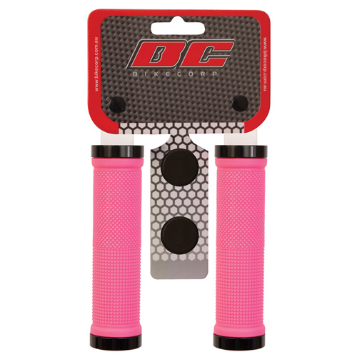 H/BAR GRIP LOCK-ON PINK