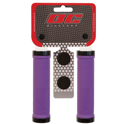 H/BAR GRIP LOCK-ON PURPLE